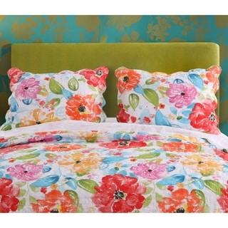 Barefoot Bungalow Esme Floral Pillow Shams (Set of 2)