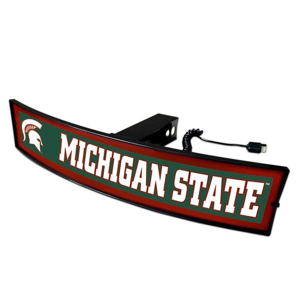 Fanmats Michigan State Acrylic Light-up Hitch Cover