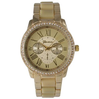 Olivia Pratt Women's Classic Ceramic Style Bracelet Watch (4 options available)