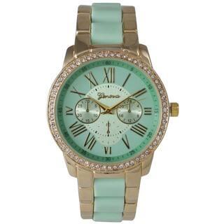 Olivia Pratt Women's Classic Ceramic Style Bracelet Watch|https://ak1.ostkcdn.com/images/products/14254559/P20842914.jpg?impolicy=medium
