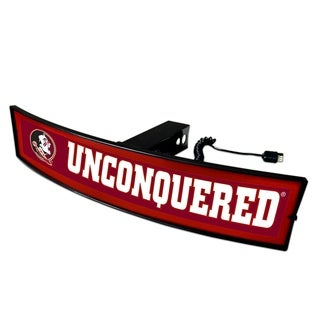 Florida State Seminoles 'Unconquered' 2-inch Light-up Hitch Cover