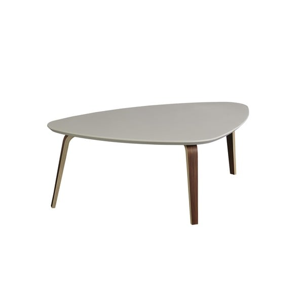 Contemporary Modern Tisdale Large Ivory Coffee Table