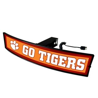 Fanmats Clemson Go Tigers Light-up Hitch Cover
