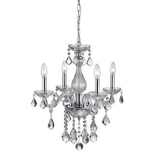 Annis 4-Light Crystal Chandelier