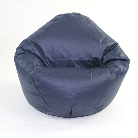 cf201429b65 Buy Vinyl Bean Bag Chairs Online at Overstock | Our Best Living Room ...