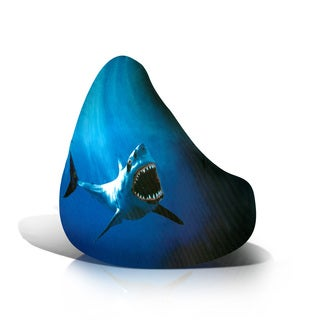 Adult Beanbag Print Shark