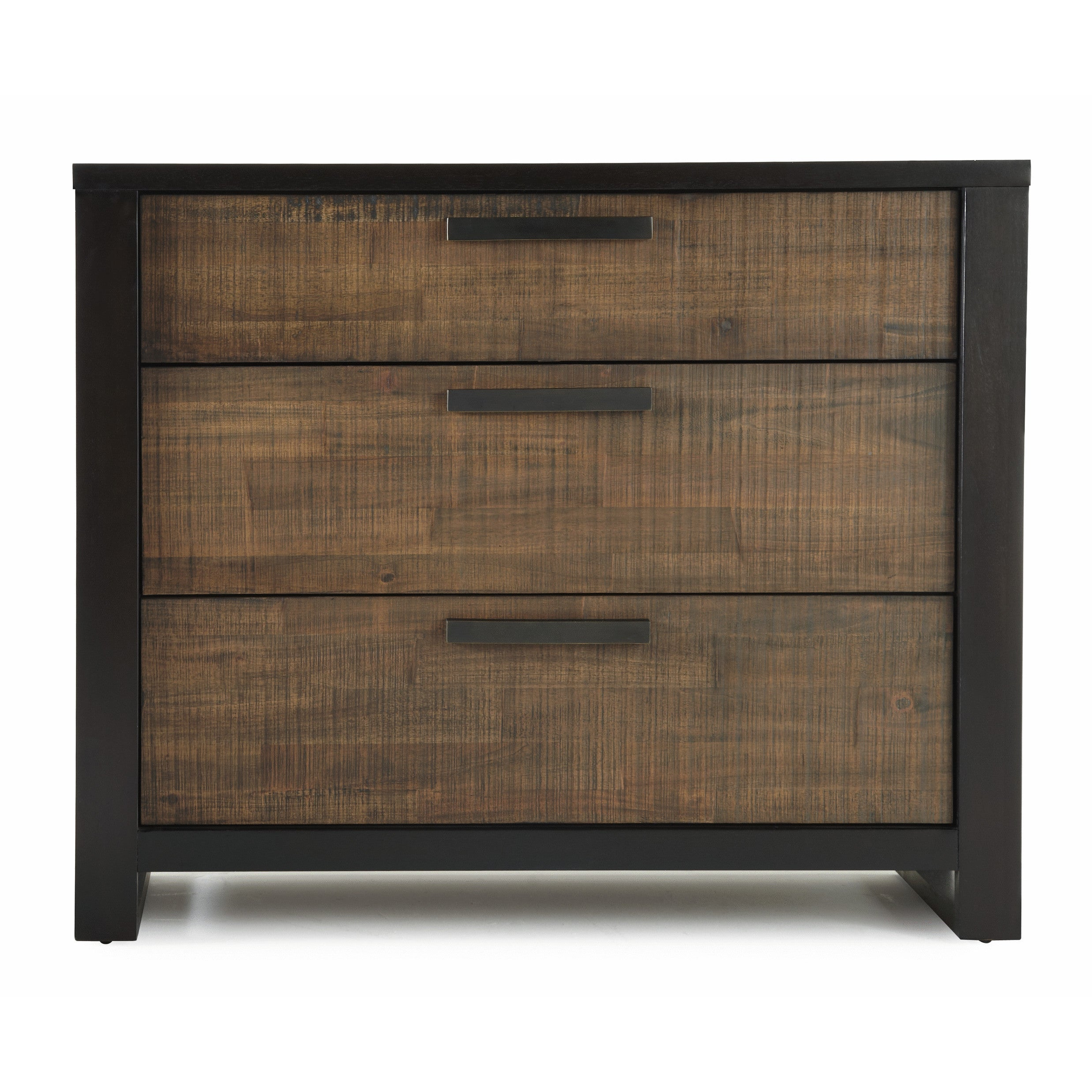 Axel Media Chest (Dressers), Brown, Size 3-drawer