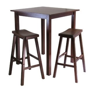 Parkland 3-piece Square High Pub Table and Stool Set