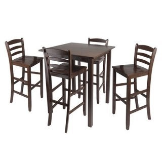 Parkland 5pc High Table with 29-inch Ladder Back Stools
