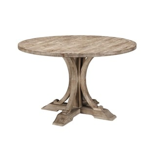 Weston Distressed Wood Dining Table