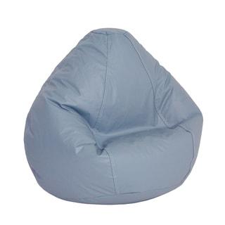 Large Lifestyle Bean Bag Wedge Blue