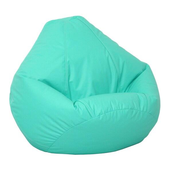Shop Large Lifestyle Bean Bag Aqua - Free Shipping Today - Overstock.com -  14254878 ce1d75214247b