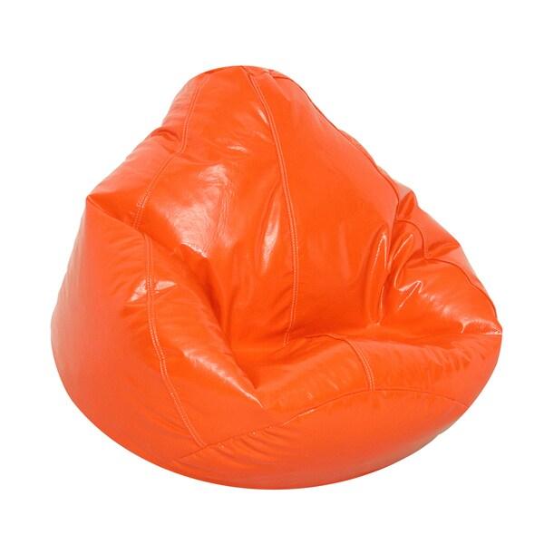 Shop Wetlook Large Bean Bag Orange - Free Shipping Today - Overstock.com -  14254885 fdf5366c3c775