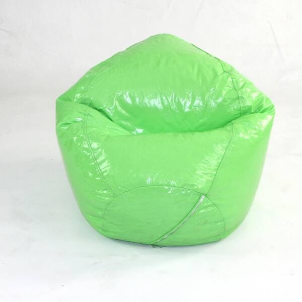 Tremendous Shop Wetlook Junior Bean Bag Neon Green Free Shipping Machost Co Dining Chair Design Ideas Machostcouk