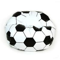 Soccer Ball Junior Sports Vinyl Pure Bead Bean Bag