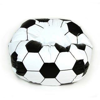 Soccer Ball Junior Sports Vinyl Pure Bead Bean Bag