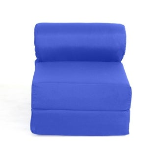 Juvenile Studio Chair Sleeper - Royal Blue