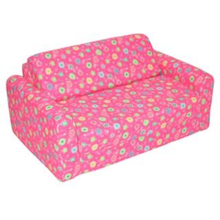 Juvenile Sofa Sleeper - Pink Flower