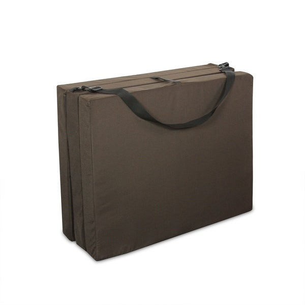 Shop Tri Fold Hide A Mat 30 Quot Jr Twin Chocolate Free
