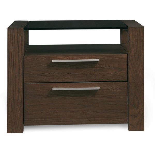 Hudson 2 Drawer Night Stand