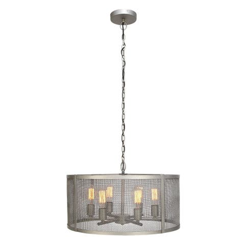 Metal 6 Light Pendant (25 in x 48 in)