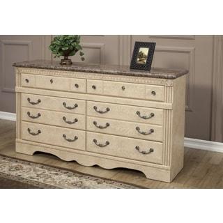 Sandberg Furniture Amalfi 6-Drawer Dresser