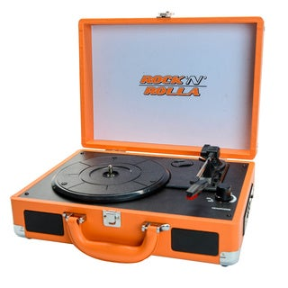 ROCK 'N' ROLLA JR Portable Briefcase Turntable