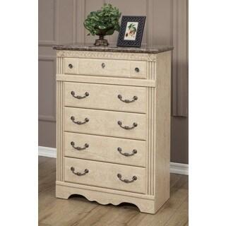 Sandberg Furniture Amalfi 5-Drawer Chest