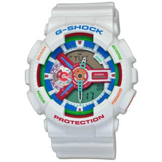 Casio G-Shock GA110MC-7A Men's Multi-Color Dial Watch