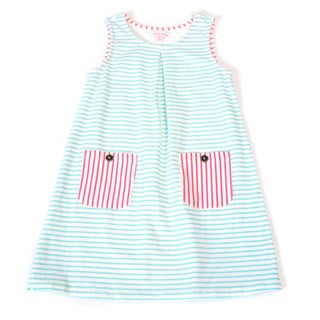DownEast Basics Girls' Edinburgh Dress