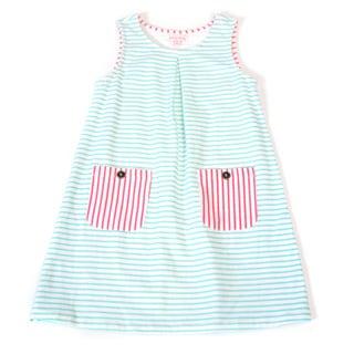 DownEast Basics Girls' Edinburgh Dress