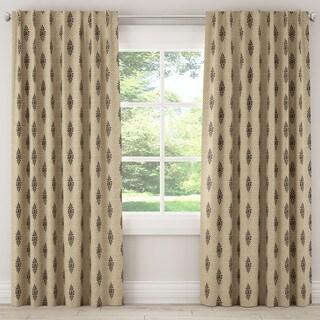 Skyline Furniture Boca Gold Fabric Curtain Panel