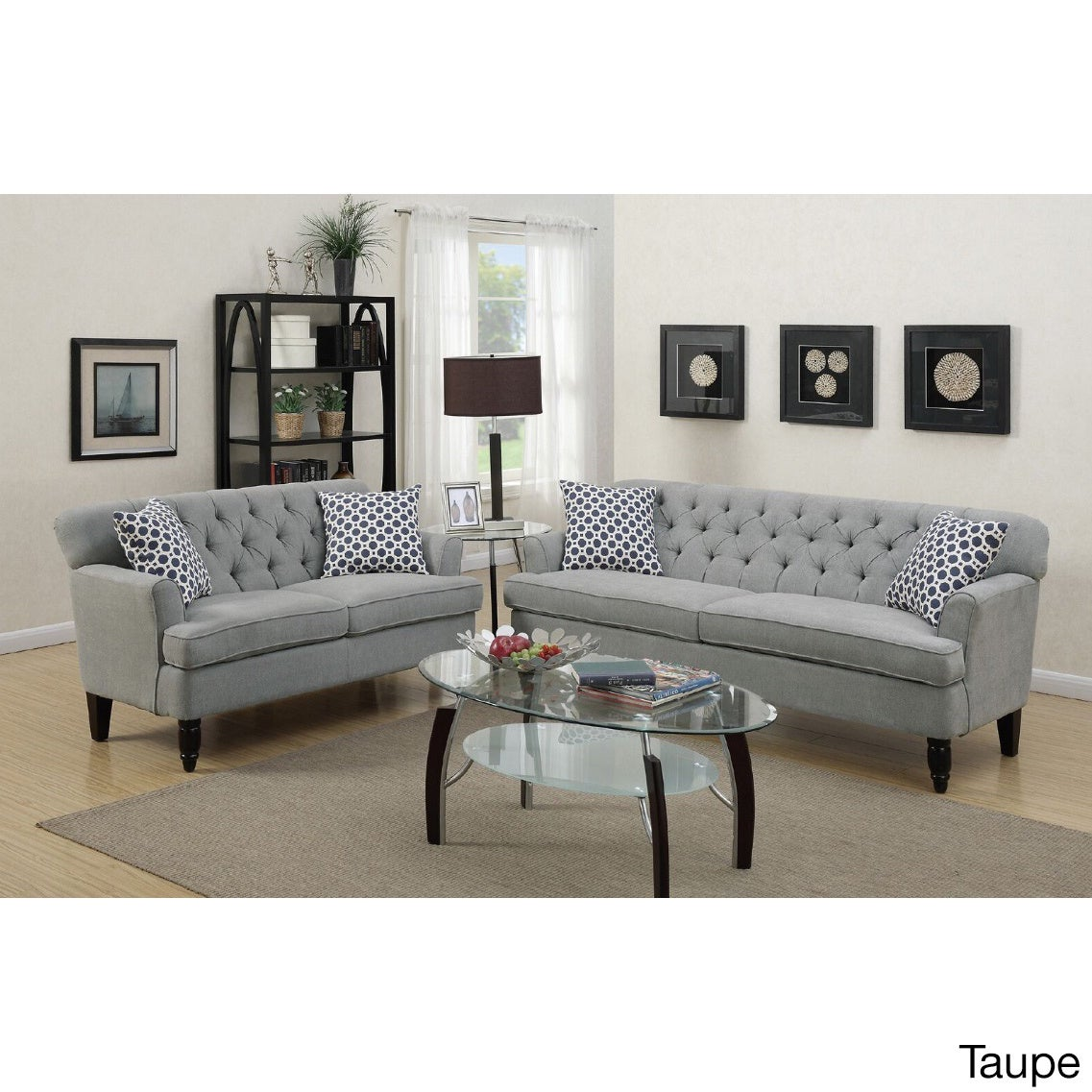Taupe Living Room Furniture Sets For