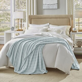 Serta Damask Stripe Blanket (More options available)