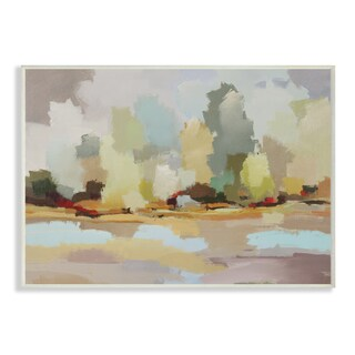 Stupell 'Chatham Salt Marsh Abstract Landscape' Wall Plaque Art