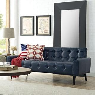 Delve Vinyl Sofa