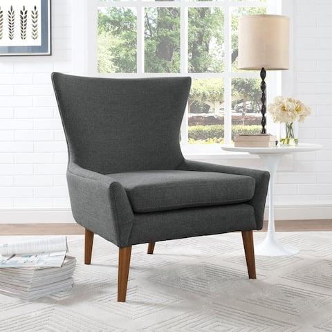 Keen Fabric Mid-Century Armchair