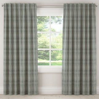 Skyline Waverly Green Multi Stripe Curtain Panel