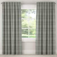 Skyline Waverly Green Multi Stripe Curtain Panel