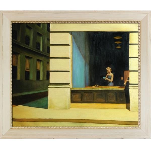 Edward Hopper New York Office 1962 Hand Painted