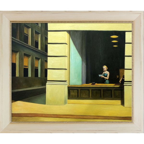 Edward Hopper X27 New York Office 1962 Hand Painted