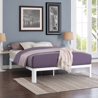 Corinne Steel Full-Size Platform Bed (3 options available)