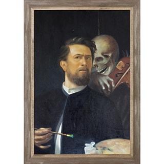 Shop Arnold Bocklin Self Portrait With Death As A Fiddler