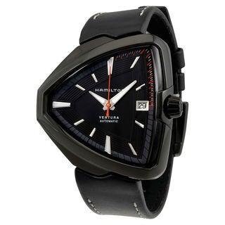 Hamilton Ventura H24585731 Men's Black Dial Watch
