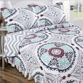 Slumber Shop Maryanne Agusto Vintage Collection Quilt Set