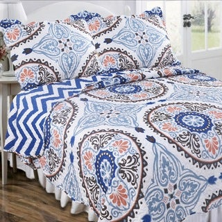 Slumber Shop Maryanne Morocco Vintage Collection Quilt Set