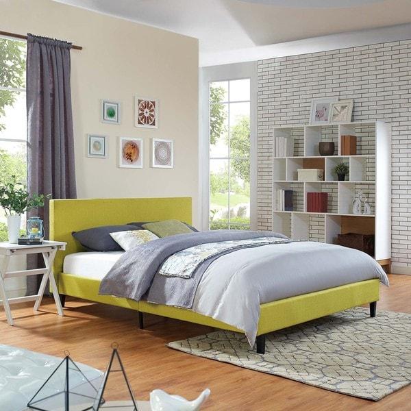 anya fabric fullsize platform bed