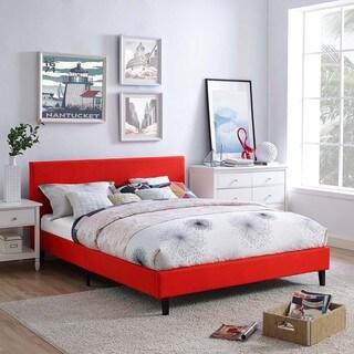 anya fabric full size platform bed