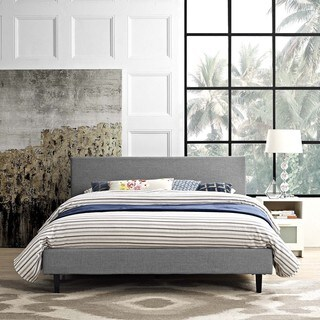 Anya Fabric Full-Size Platform Bed (2 options available)