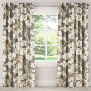 Skyline Adagio Driftwood Curtain Panel